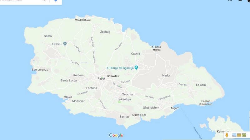 Malta Cartina Stradale.Cartina Geografica Delle Isole Isola Di Malta Mappa O Carta Map Of